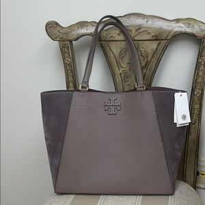 Tory Burch McGraw Mixed Materials Carryall